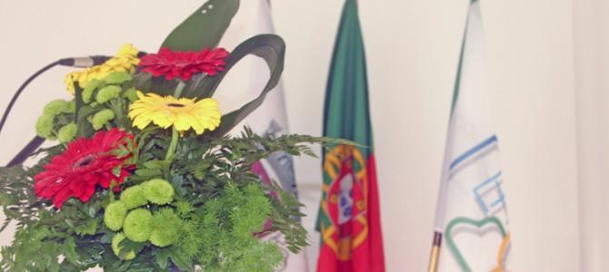 Bandeira da LAQC