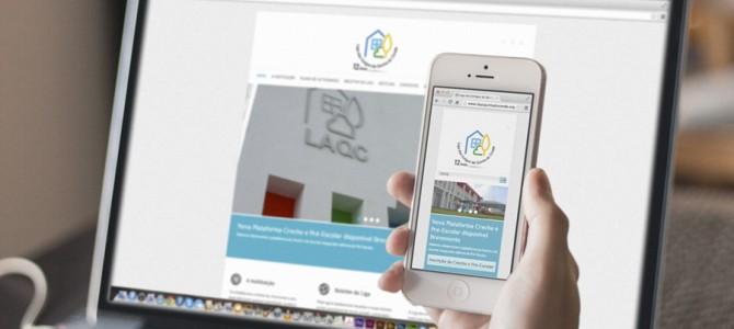 Novo site da LAQC