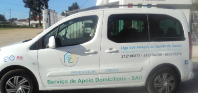 Serviço Apoio Domiciliário – LAQC